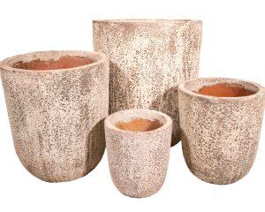 ancient u planter pot