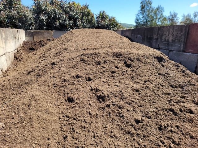 Composted Paunch in Bulk from Landscape Yard
